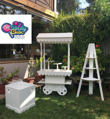 Carrito Candy Bar, Candychoc, Candybar Arriendo,