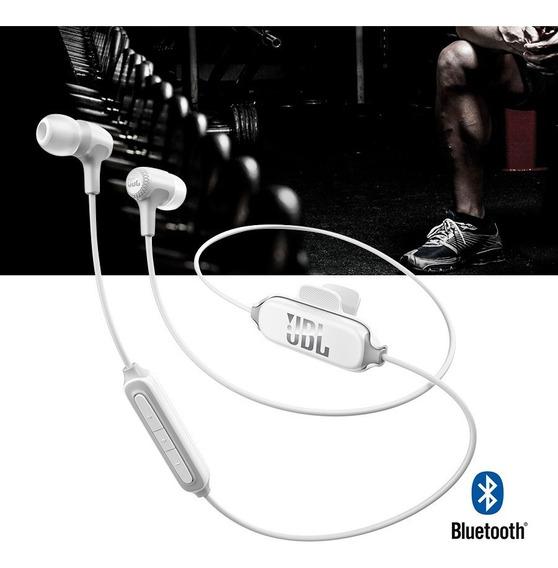 Fone De Ouvido Jbl Intra Auricular E25bt Branco Bluetooth