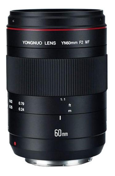 Lente Yongnuo 60mm F/2 Macro Mf - Canon