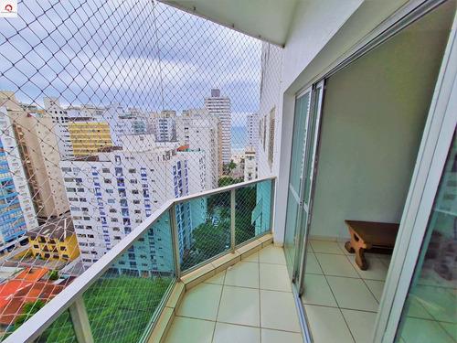 Praia Das Pitangueiras - Vista Para O Mar - 4 Dormitórios (1 Suíte) - 2 Vagas - Lazer (piscina, Salão De Jogos E Sala De Tv) - Ap05582 - 68992748