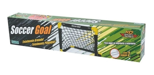 Arco De Futbol Soccer Goal Plegable Juguete Niño Pelota