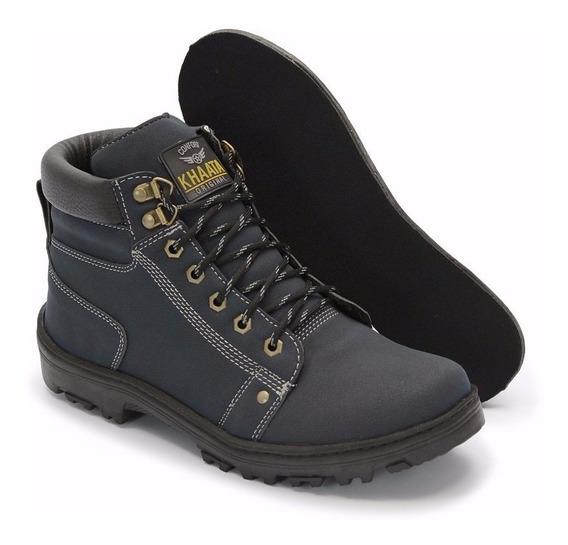 Sapato Coturno Bota Masculino Adventure Social Amarela 106