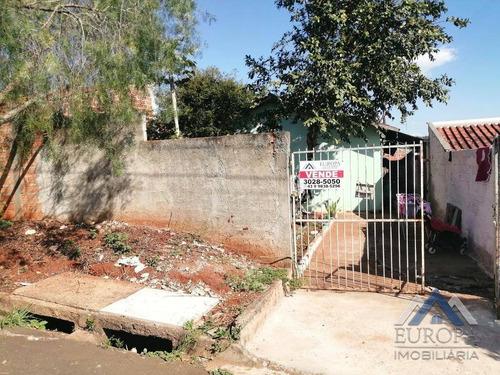 Imagem 1 de 14 de Casa À Venda, 40 M² Por R$ 120.000,00 - Conjunto Habitacional Jamile Dequech - Londrina/pr - Ca1097