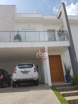 Casa Com 3 Dormitórios À Venda, 290 M² Por R$ 1.380.000 - Condomínio Mont Blanc - Sorocaba/sp - Ca1453