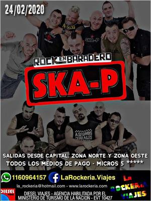 Ska-p En Rock En Baradero: Pasajes, Traslados, Charter Skap