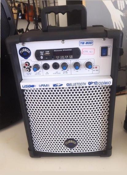 Caixa Multiuso Tb-200 Turbox/ Fm/ Bluetooth/ Usb