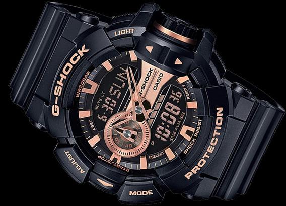 Relógio G-shock Ga 400gb 1a4 Rosë - Original