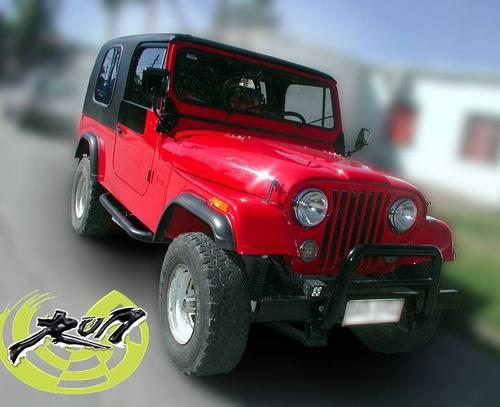 Imagen 1 de 8 de Fenders Pasa Ruedas De Jeep Cj5, Cj6, Cj7. Modelo Chico.