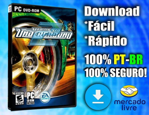 Need For Speed Underground 2 Pc - Totalmente Pt-br! Digital