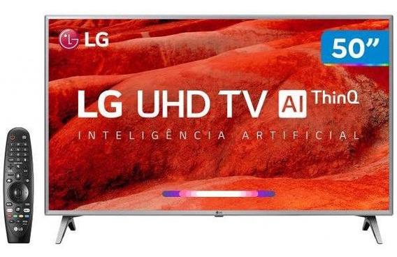 Smart Tv 4k Led 50 Lg 50um7500 Wi-fi-inteligência Artific