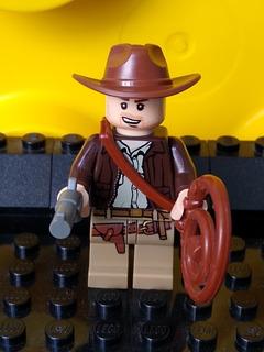 Lego Original Indiana Jones Variante Con Sonrisa