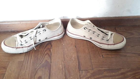 Zapatillas Converse Chuck Taylor All Star Linen Ox Poco Uso