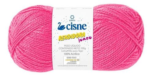 Imagen 1 de 4 de Lana Cisne Rendidora Jumbo X 5 Ovillos - 500gr Por Color