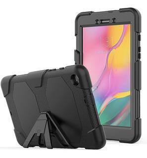 Funda Uso Rudo Galaxy Tab A 8.0 2019 Sm-t290 Cristal Templad