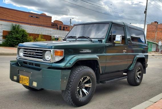 Toyota Land Cruiser Blindado Camioneta Campero Macho Economi