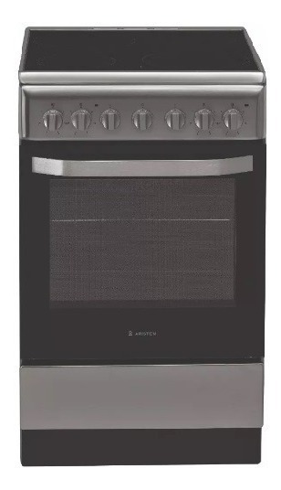 Cocina Ariston As5v5pm Vitro Inox 50cm