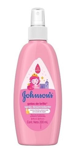 Spray Para Peinar J&j Gotas De Brillo 200ml