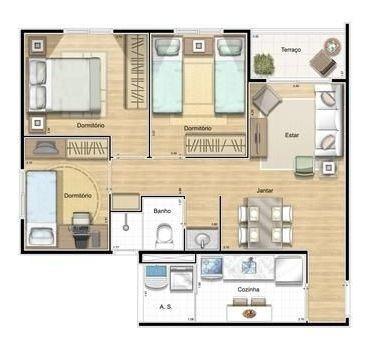 Apartamento Com 3 Dorm No Tatuapé, Próximo Ao Metrô Tatuapé