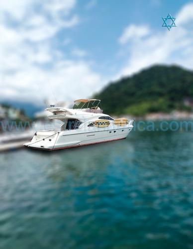 Imagem 1 de 10 de Lancha Ferretti 46 Barco Iate Sedna Azimut Fs Phantom Nx