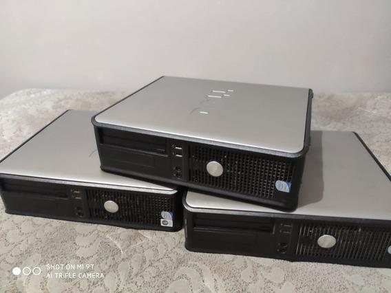 Cpu Dell Optiplex 755 Desktop Core 2 Duo 4gb Ram, Win Xp,7
