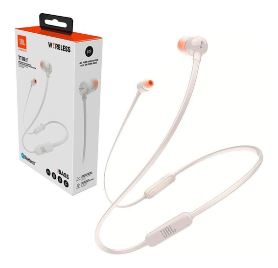 Fone De Ouvido Jbl Intra-auricular Branco - T110btwht