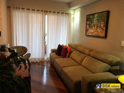 Apartamento Com 3 Dormitórios À Venda, 123 M² Por R$ 900.000,00 - Nova Petrópolis - São Bernardo Do Campo/sp - Ap1176