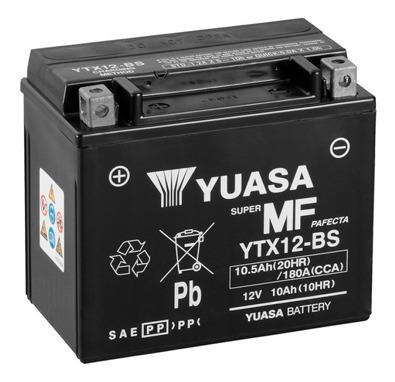 Batería Moto Yuasa Ytx12-bs Kawasaki Zx600-f Ninja Zx-6