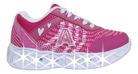Zapatillas Addnice Moda Arrow Corazon Cordon Niña Fu/rs