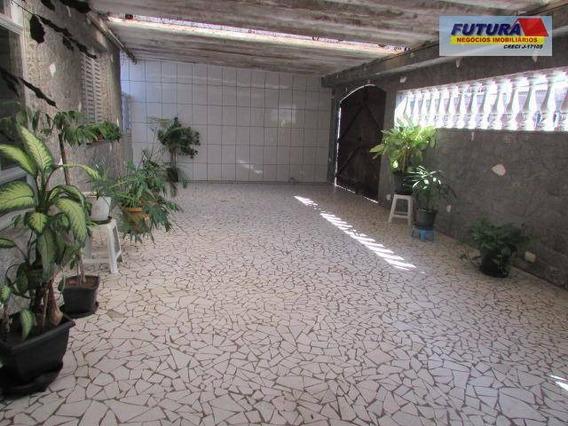 Casa Com 2 Dormitórios À Venda, 187 M² - Vila Margarida - São Vicente/sp - Ca0355