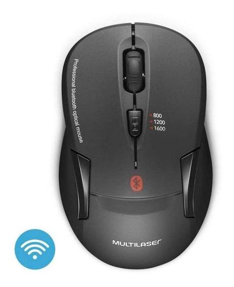 Mouse Sem Fio Bluetooth Preto Multilaser - Mo254