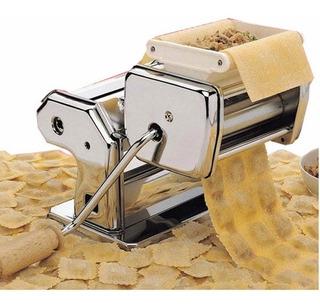 Maquina Fabrica Pastas Fideos Tallarin Cinta Raviolera Acero Inoxidable Estira Masa Pastas Caseras Fideos Y Ravioles
