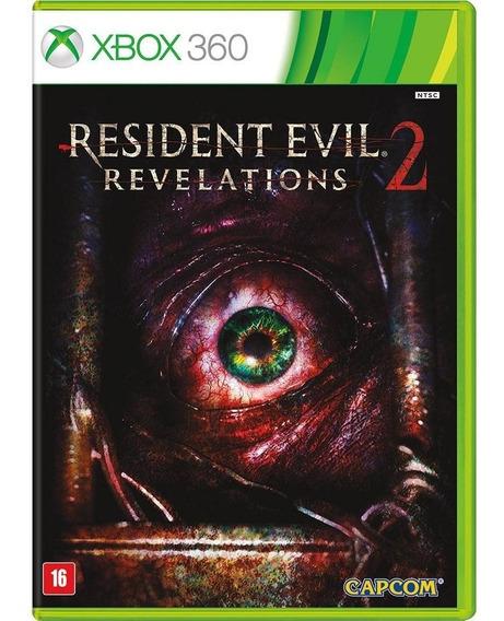 Resident Evil Revelations 2 - Xbox 360 - Novo - Midia Fisica