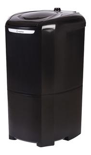 Lavadora Semiautomática Bárbara 10kg Black 110v - Wanke