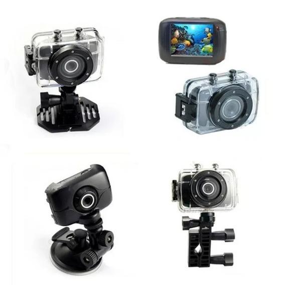 Câmera Digital Sports Action Camcorder 1080p Hd