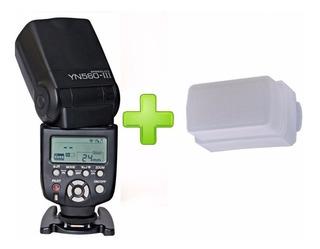 Flash Yongnuo 560iii + Difusor + Envío Gratis Nikon Canon