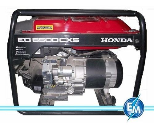 Generador Honda Cxs6500 - 220v -sin Batería Super Precio! .
