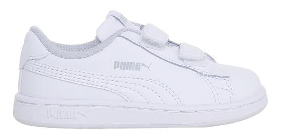 Zapatillas Puma Moda Smash V2 L V Inf Bebe Bl/bl