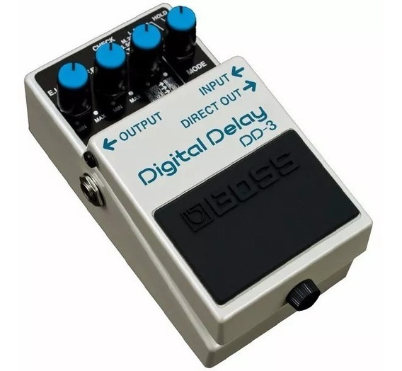 Pedal Boss Dd3 Efeito Digital Delay + Nf E Garantia Oferta