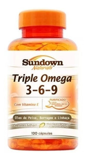 572- Sundown Naturals T/ Omega C/120 Caps C 3-6-9 Val 2020