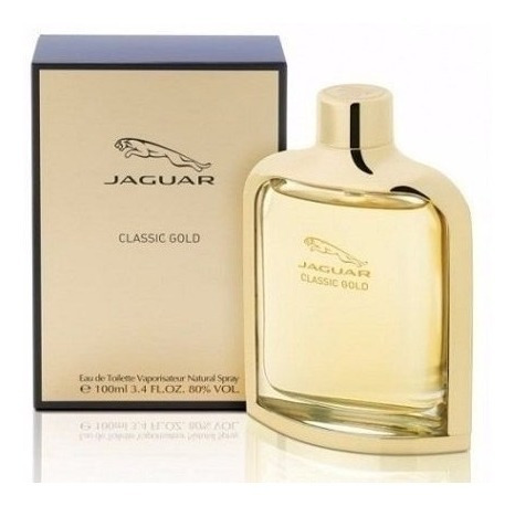 Perfume Jaguar Classic Gold Masculino Edt 100ml Original