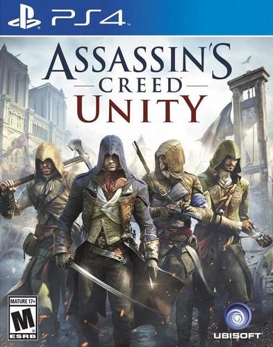 Imagen 1 de 7 de Assassins Creed Unity Ps4 Juego Sellado Canje Sevengamer
