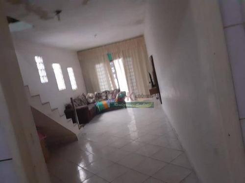 Imagem 1 de 6 de Casa Com 3 Dormitórios À Venda Por R$ 137.800 - Rio Comprido - Jacareí/sp - Ca5676