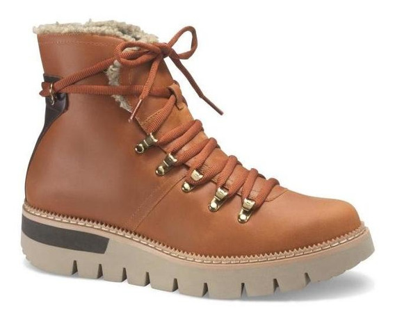 Botines Mujer Caterpillar Attention Fur Wp Rust The Power