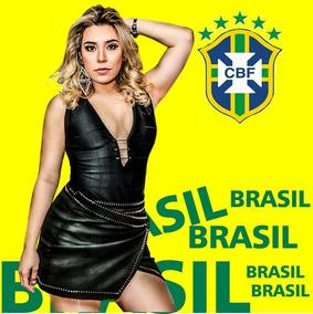 Camisa Copa Brasil Naiara Azevedo 2018 Frete Gratis 20