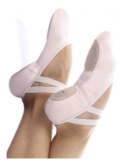 Sapatilha Ballet Balé Dança Meia Ponta - Strech Glove Foot