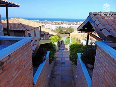 Casa Duplex No Porto Das Dunas, Venda E Locação, 3 Suítes, Vista Mar. Condomínio Fechado. - Ca0189