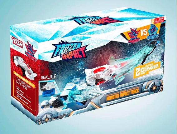 Pista Frozen Impact Xpert Pack Monster Track Original