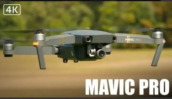 Drone Dji Mavic Pro Combo 4k (3 Baterias + Maleta) Semi-novo
