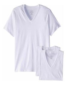 Camiseta Calvin Klein 3 Pack Playera Original Hombre Classic