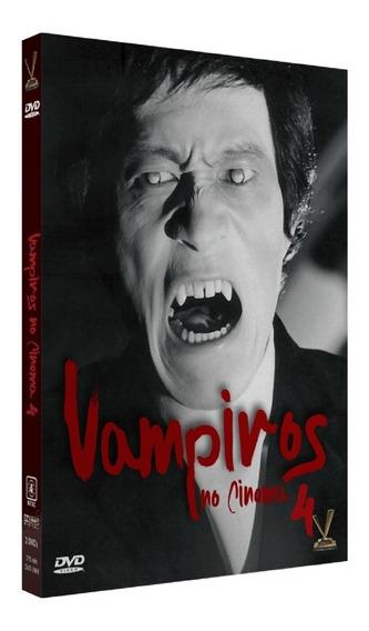 Dvd Vampiros No Cinema 4 C/cards - Versatil - Bonellihq I19